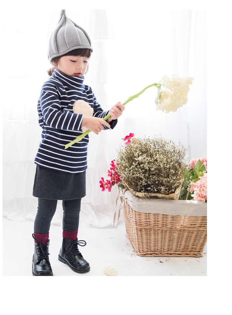 เด็กหมวกคริสต์มาส 1-3Y เด็กทารกฤดูใบไม้ร่วงฤดูหนาว Weatherization Pointy หมวกถักเด็กหมวก Shall Windmill