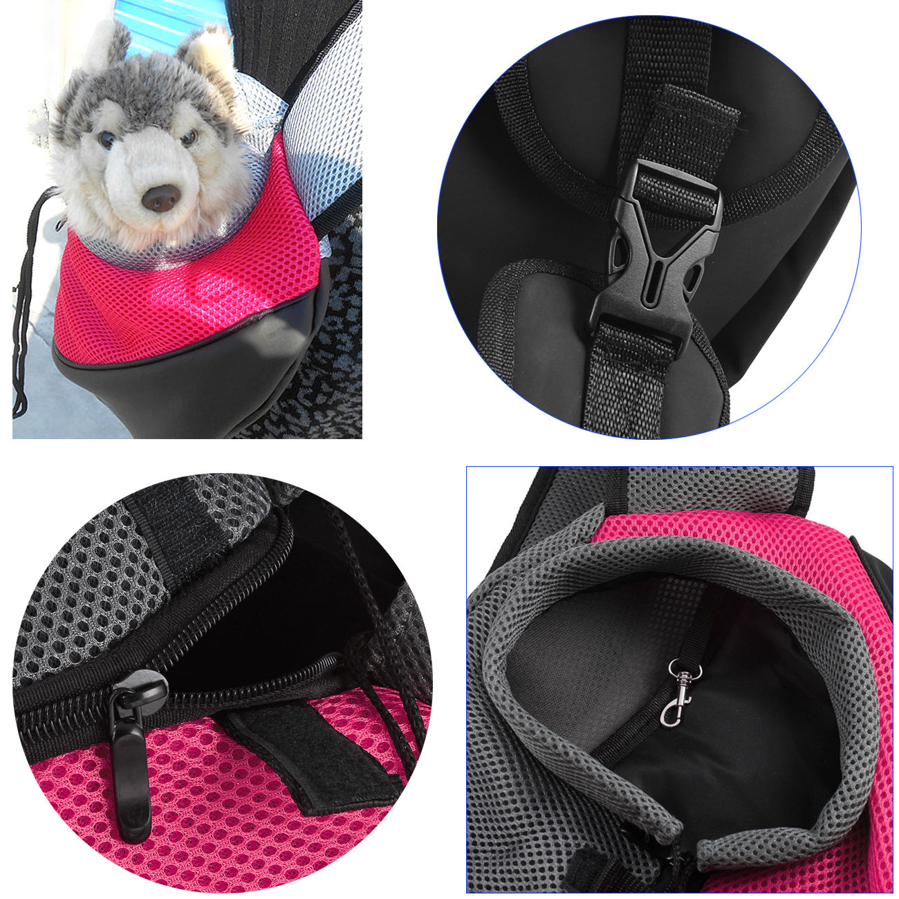 1Pc Convenient Washable Carrier for Small Pets