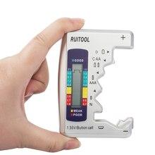 Мини цифровой тестер емкости батареи C/D/9 V/AA/AAA/1,5 V литиевая Бытовая батарея источник питания измерительный прибор