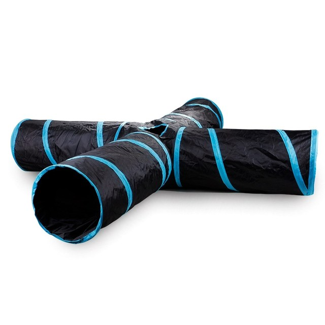 Collapsible Cat Tunnel Toy 1