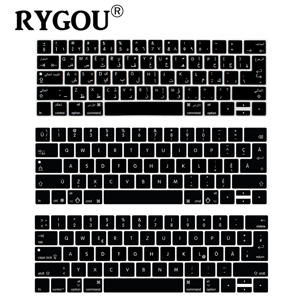 4d942ed0e1c7 Clavier French Danish German Hebrew Arabic Keyboard Stickers ...