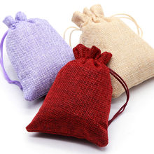1pcs Size 14.19.5cm Cotton Bags Christmas Halloween Party Diy Gift Box Packaging Wedding Candy Chocolate