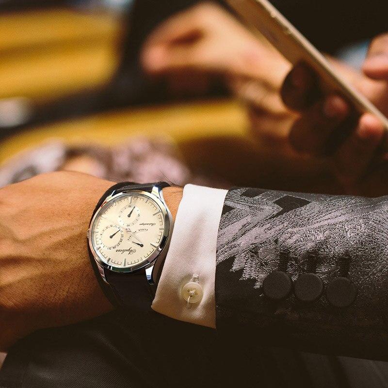 AGELOCER hommes montres Top marque de mode montre hommes d'affaires conception spéciale montres Sport montres Relogio Masculino pour cadeau - 5