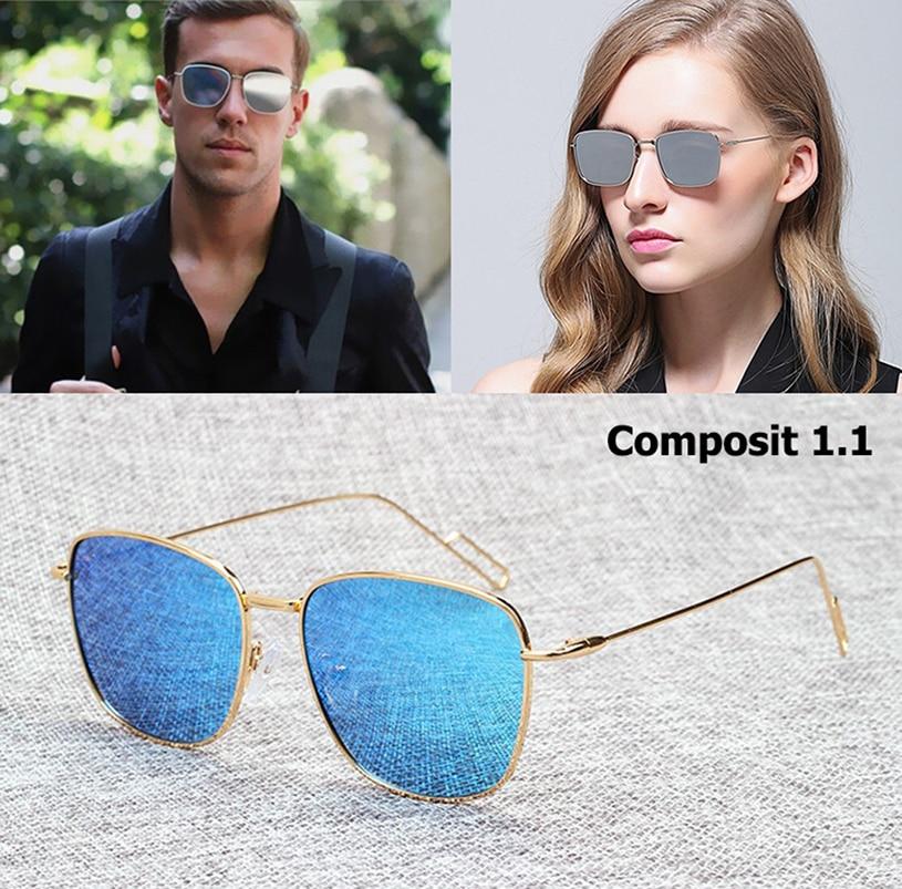 JackJad 2018 New Fashion Men Women COMPOSIT 1.1 POLARIZED Sunglasses Brand Design Metal Alloy Sun Glasses Oculos De Sol Gafas