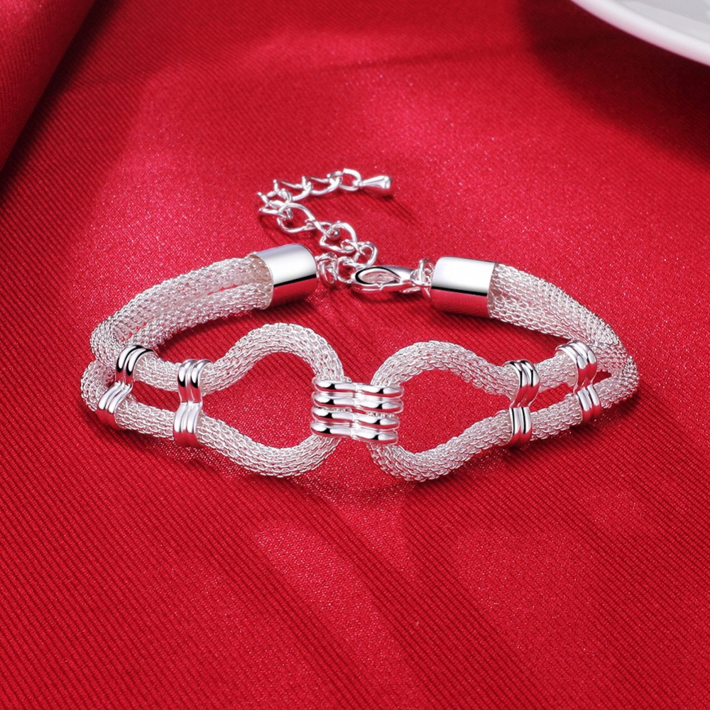 Hot Sale 925 Silver Bracelet Factory Wholesale Price Fashion Trend