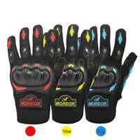 Перчатки для мотоцикла Мото гоночные перчатки Мотокросс двигатель для верховой езды велосипедные спортивные перчатки желтый красные, сини...