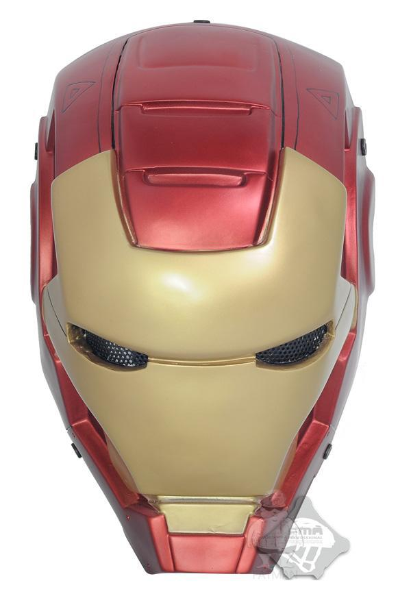 FMA steel mesh Iron Man 2 mask outdoor mask tactical mask helmet wargame gear free shipping free shipping iron man motorcycle helmet mask tony stark mark 7 cosplay mask with led light