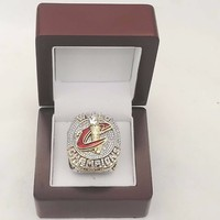 Official Version 2016 Cleveland The Cavaliers National Basketball Solid Alloy Championship Ring Size 8 14 With
