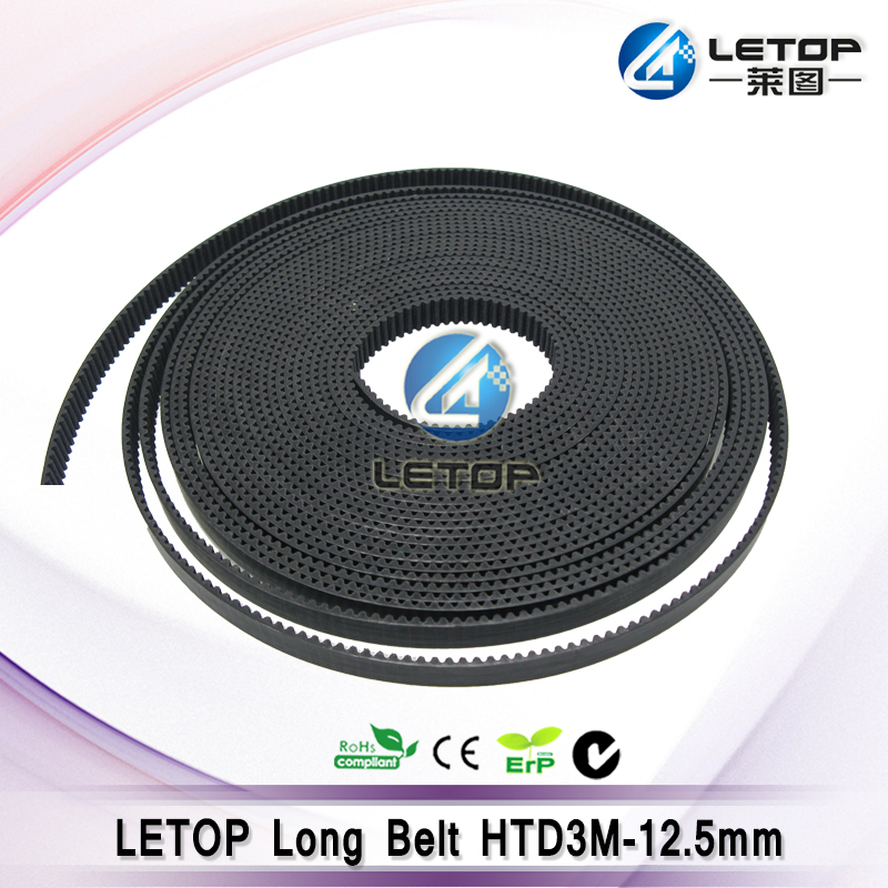 Hot sale! 9 meters HTD3M-12 Open Timing Belt Width 12mm HTD3M Belt for Inkjet Printer