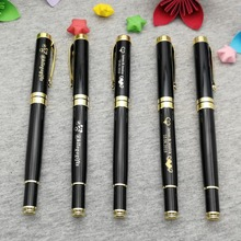 Gold rollerball pen with gold top 60g/pc heavy sign pen personalized with any logo design/words/symbol 10pcs a lot free shipping цена 2017