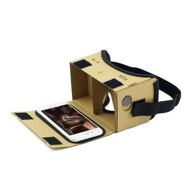 DIY Ultra Clear Google Cardboard VR BOX 2.0 Virtual Reality 3D Glasses for iPhone SmartPhone computer gafas xiaomi mi vr headset 1
