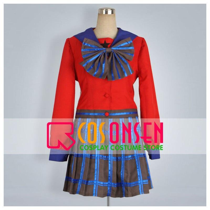 COSPLAYONSEN Sailor Moon Neptune Infinity Girls School Uniform Cosplay Costume All Size