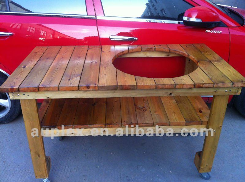Delicieux BBQ Stand Wooden Table For The 21u0027u0027inch Kamado Grills//charcoal Bbq Grills In  BBQ From Home U0026 Garden On Aliexpress.com | Alibaba Group