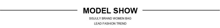 Sisjuly moda feminina bolsas de grande capacidade