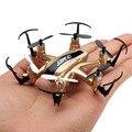 Mini regalo jjrc h20 nano hexacopter rc quadcopter 2.4g 6 canales 6axis sin cabeza modo de 1 tecla de retorno cx10a h8 mini toys drone rtf vs cx-10