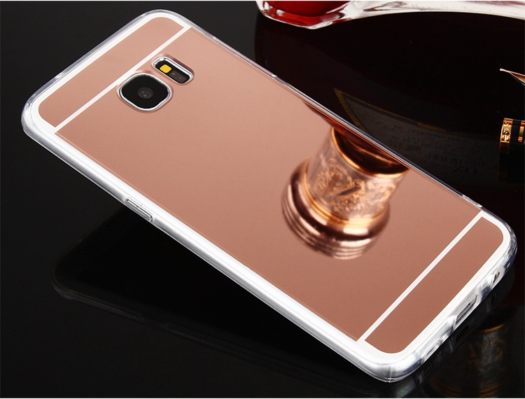 Luxury Mirror TPU Cases For Samsung Galaxy S10 E S9 S8 Plus S7 Edge J4 J6 Plus A6 A8 2018 A5 A7 J3 J5 J7 2017 Case Slim