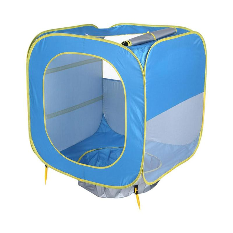 Bleu pliant tente maison infantile enfants jeu jouer tente océan balle piscine enfants extérieur Playhouse tente pour Bbay