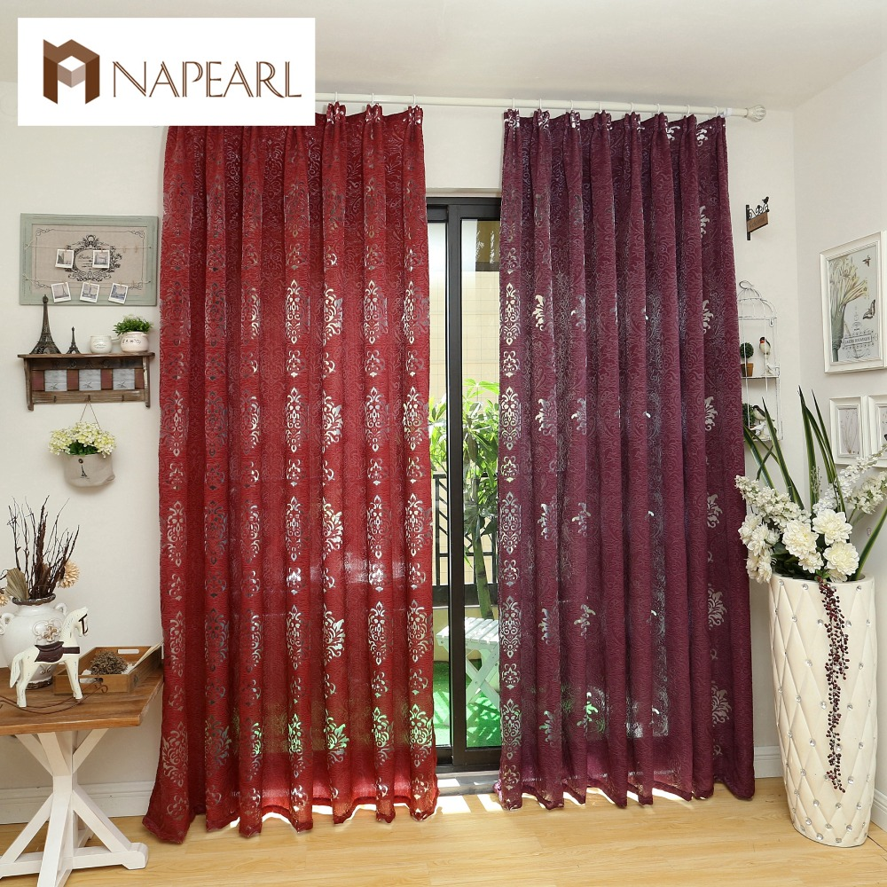 European Luxury Design Gray Coffee Curtain Kitchen 3d Curtains Multicolored Nice For Living Room