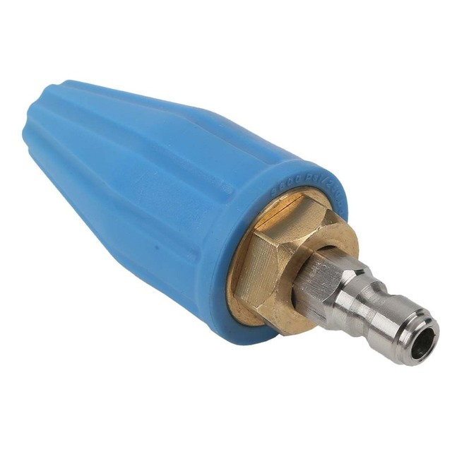 Spray Rotating Turbo Nozzle Head Tip 3600Psi GPM 3.0 for High Pressure Washer Cleaner Spray
