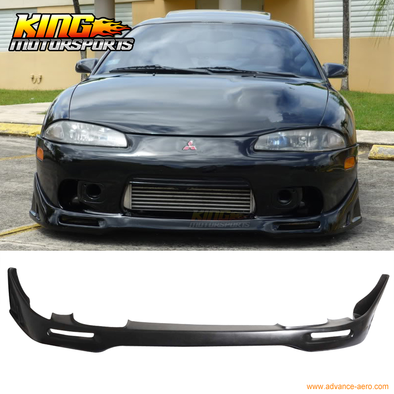 FOR 97-99 98 Mitsubishi Eclipse PU Front Bumper Lip Spoiler сумка tommy hilfiger am0am01867 002 black page 8