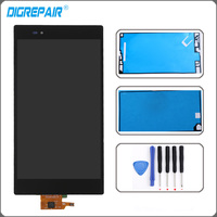 Black For Sony Xperia Z Ultra XL39h XL39 C6802 C6806 LCD Display Panel Touch Screen With