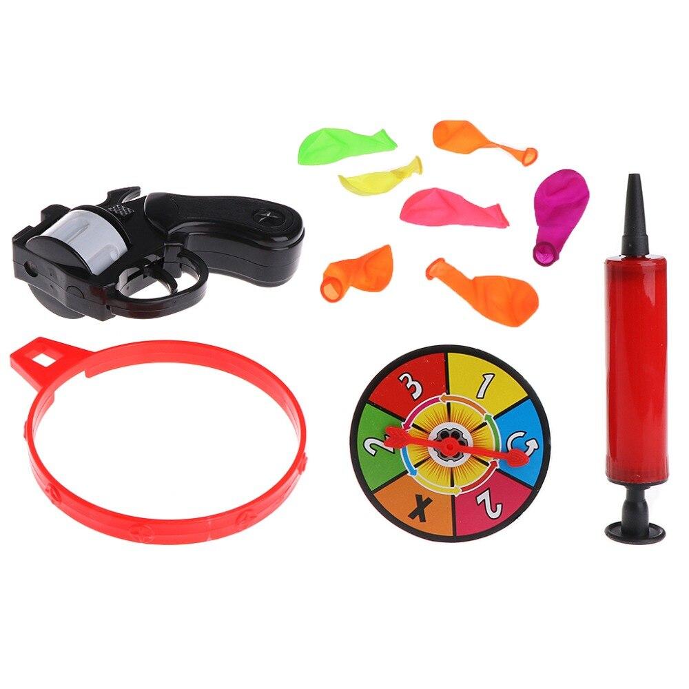 Roulette russe modèle ballon pistolet pistolet Bang partie jeu amusant délicat jouet cadeau