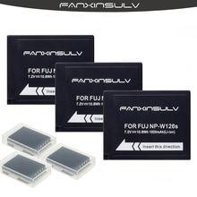 3x NP-W126 NP-W126S Battery + 3box for Fujifilm Fuji XE1 XE2 S XE3 XM1 XA1 XA2 XA3 XA5 XA10 XA20 X100F XH1 XT1 XT2 XT3 XT10 XT20 camera strap pu leather camera wrist hand strap grip for finepix fuji fujifilm x30 x20 x10 xt10 xt1 x100 x100s xe1 xe2 xm1 xa1