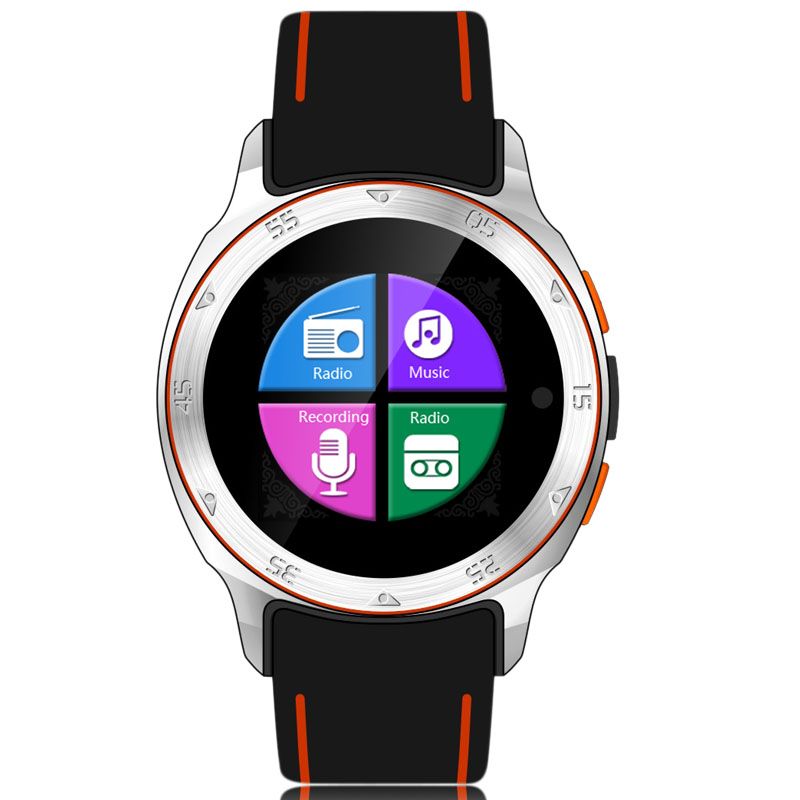 Android 4 4 S7 Waterproof Smart Watch MTK6572 BT 4 0 GPS With Music Video Player