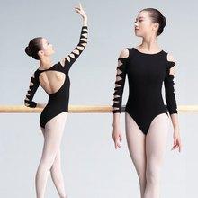 Sexy Backless Dance Leotard Adults Girls Ballet Clothing Leotards Gymnastics Bodysuit For Ballet