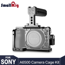 SmallRig Dslr Camera Rig Cage Accessory Kit for Sony A6500 with a Cage and a Top Handle and a HDMI Cable Clamp - 1968 цена в Москве и Питере