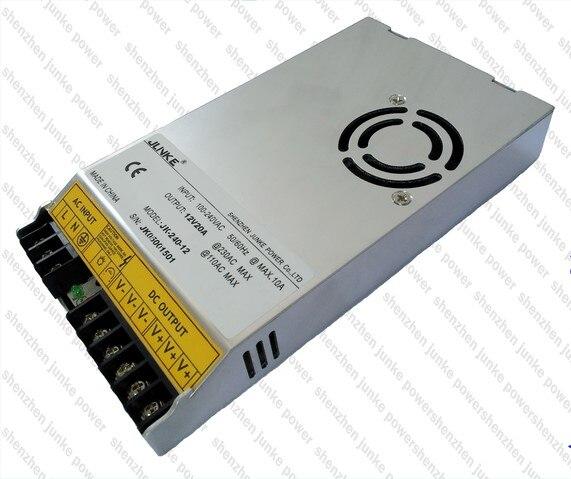 12 V 20A 240 W commutation LED alimentation 12 V transformateur électronique 110 V / 220 V DC 12 V pour LED bande