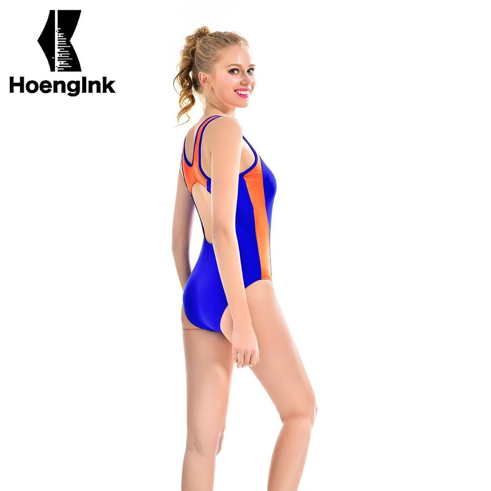 2017 new sports swimsuit blue swimsuit no back swimsuit swimming pool swimwear size S to 2XL 7066 schulze blue press line size 2 s