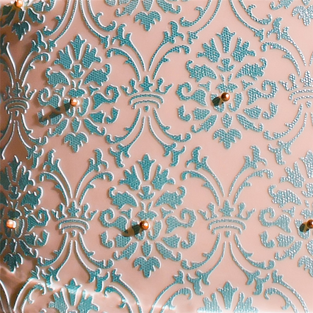 Alexandria Damask Stencil plactic stencil for cake decoration cake decorating tools in Cake Molds from Home Garden