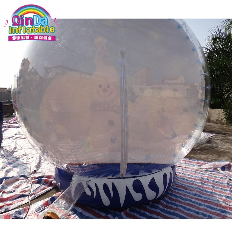 inflatable snow globe22