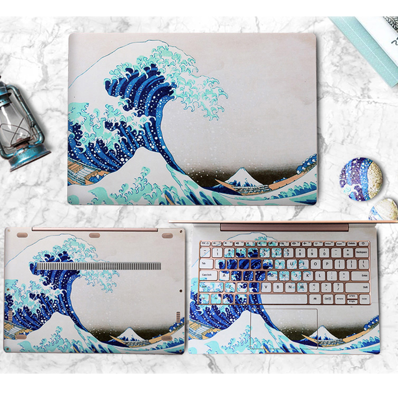 Laptop Skin Stickers for Xiaomi Notebook Mi Air 12.5 13.3 inch Full Set PVC Vinyl Decal Laptop Skin for Xiaomi Pro 15.6 Case