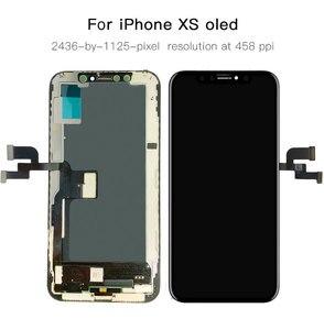 Image 3 - AAA + + + OLED iPhone X XR XS LCD ekran değiştirme ile 3D dokunmatik meclisi gerçek ton hiçbir ölü piksel