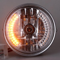 GZYF 8 inch Motorcycle Headlight With Turn Signal For Harley Bikes / Curisers / Choppers / Custom Strong light