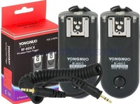 Yongnuo Wireless Flash Trigger RF 603CII C3 Kit For Canon 1D 1DS 5D 5D II 6D