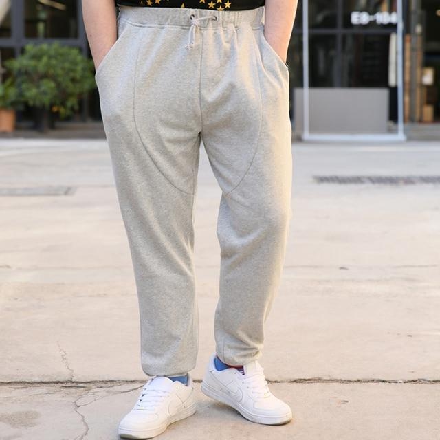 SINYIT 2017 Spring Summer Fashion Brand Plus Size Baggy Loose Joggers Hip Hop Harem Thin Men Pants Sweatpants Leggings Trousers