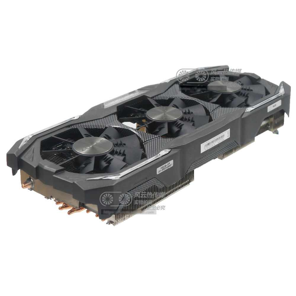 New Original for ZOTAC GTX1070 GTX1080 AMP EXTREME Graphics card cooler fan with heat sink
