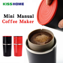 Manual Coffee Maker Mini Grinder Machine Pressure Portable Handheld Espresso Outdoor Barista Home Traveller Tools