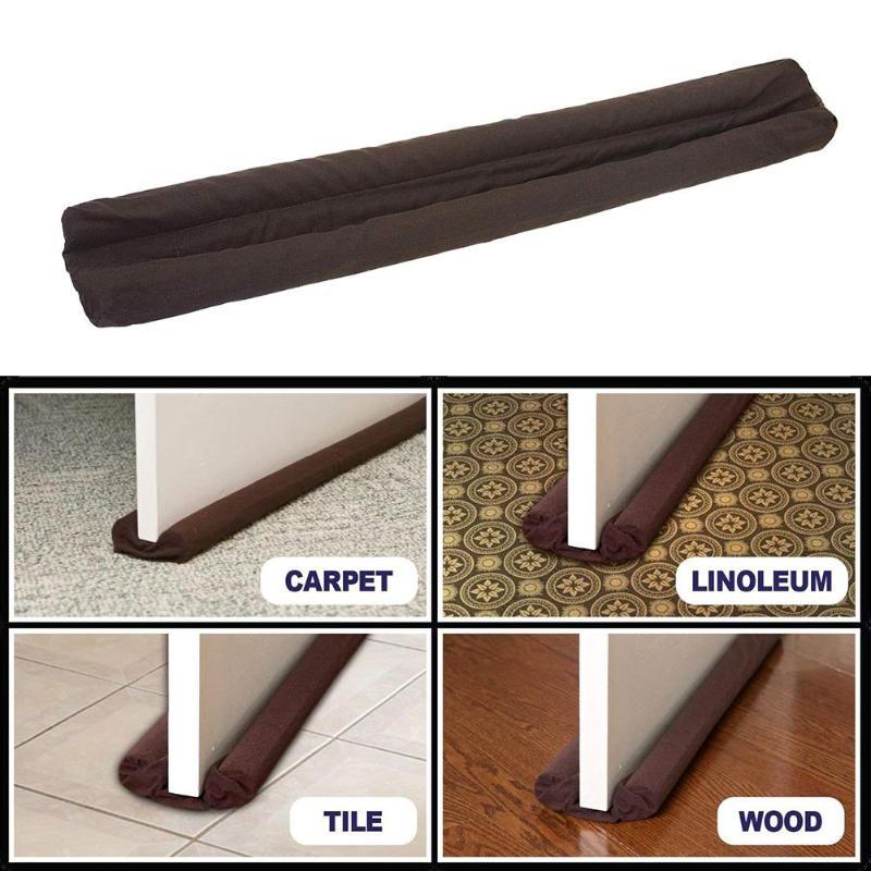 Door Window Stopper Wind Dust Blocker Sealer Interior Exterior Doors Windows Insulator Protector Door Stops for home or office
