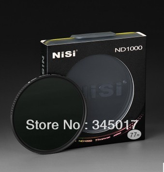 Nisi ND1000 82mm thin mirror gray gray density filter filter water-proof and oil proof eyki h5018 high quality leak proof bottle w filter strap gray 400ml