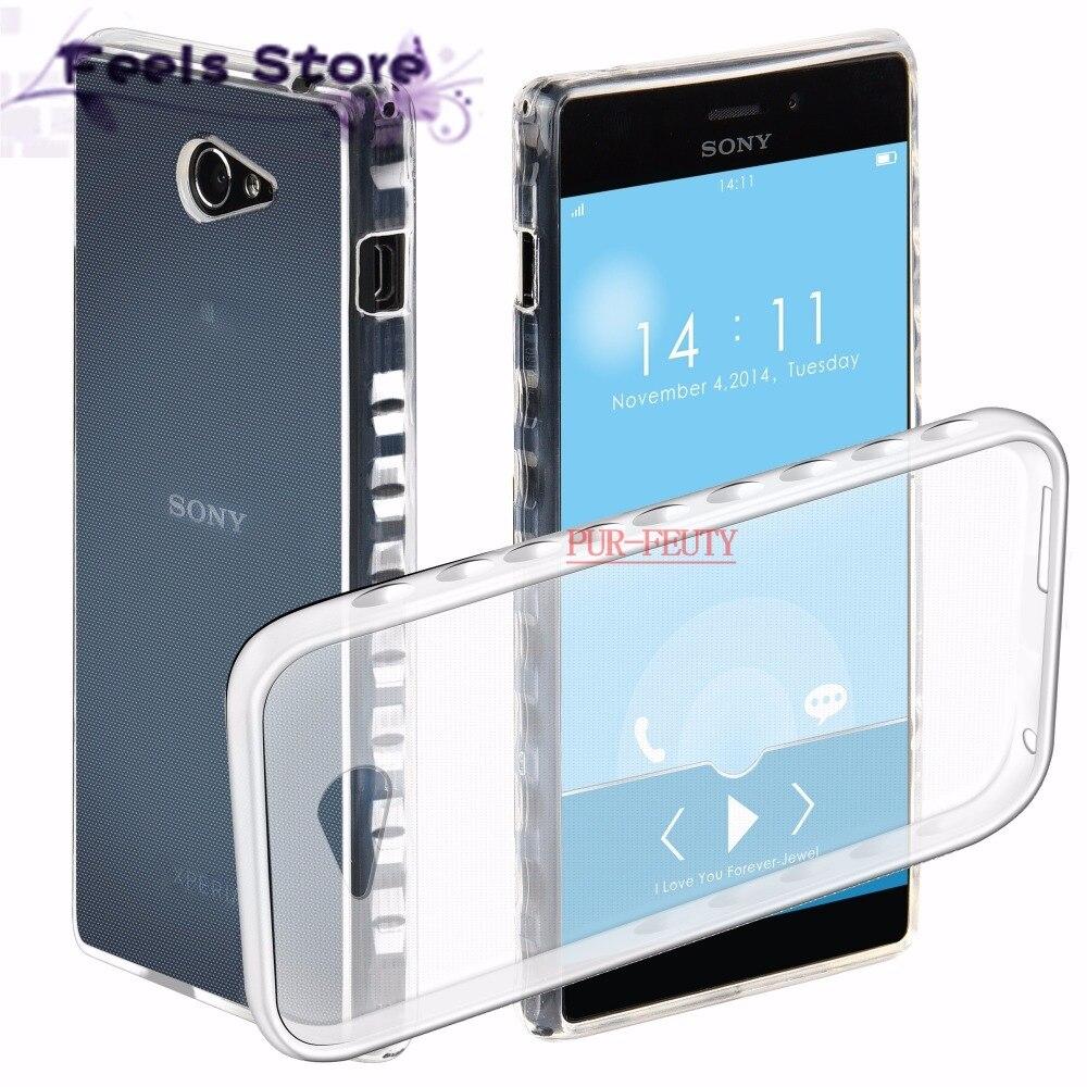 Принципиально для Sony Xperia M2 d2305 d2306 S50H LTE d2303 двойной D2302 случае телефон силиконовый чехол для Sony Xperia M2 aqua Dual S50H D2302