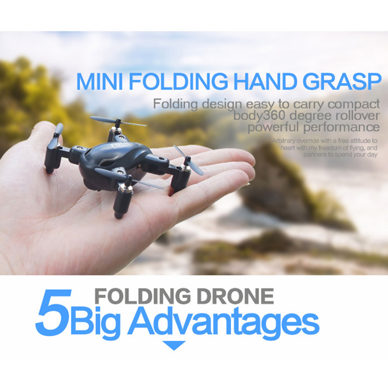 Pocket Drone Funny Quadrocopter 4CH 6Axis Gyro 3D Roll Remote Control Mini Dron RC Helicopter