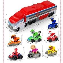 Paw Patrol toys set dog car Mobile rescue big bus puppy patrol paw deformation childrens toy gifts