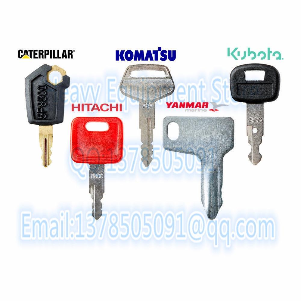 BODYART 4 Pcs Replacement Key for Hitachi /& Hitachi ZAX Excavator