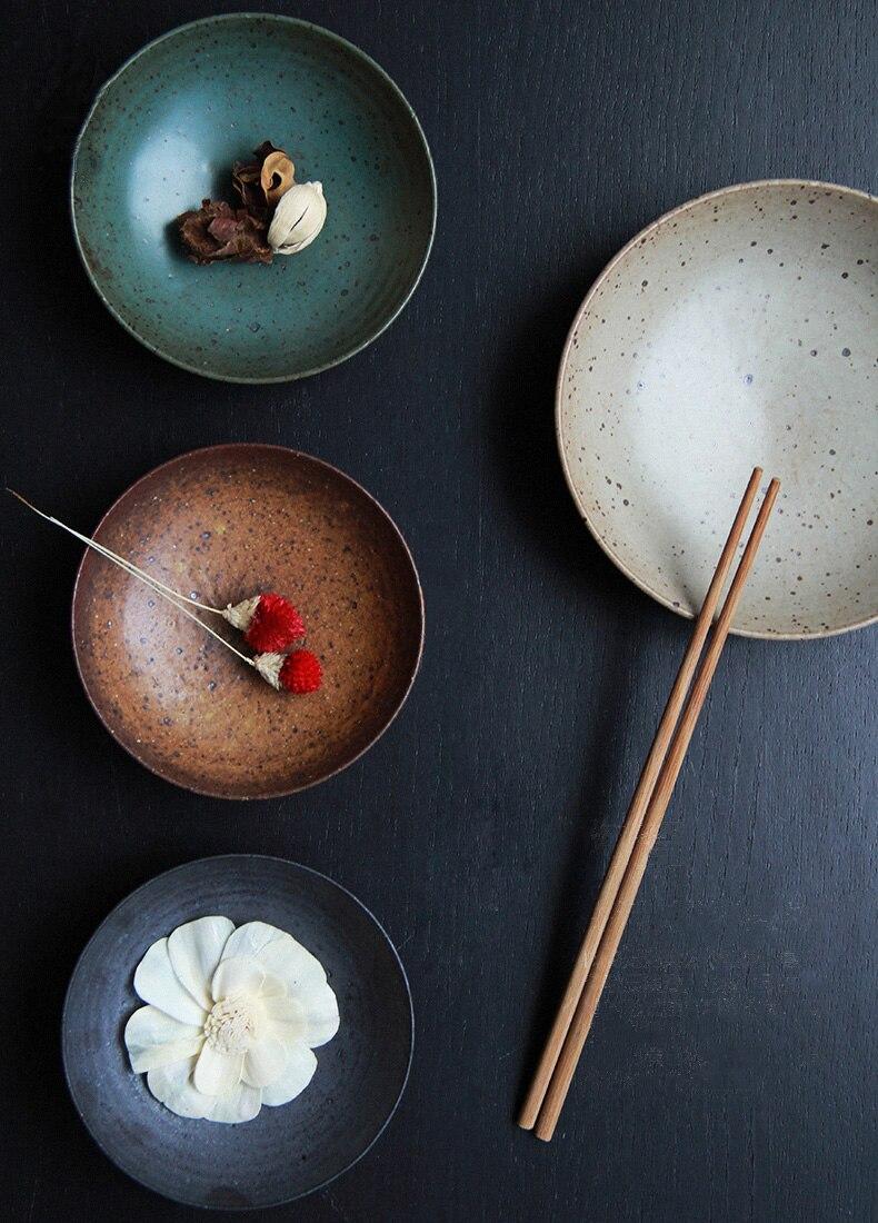 Hot Exotic Hand Bemalt Marokkanischen Italien Böhmischen Stil Teller 8,5  Zoll Bunte Salatteller Esszimmer