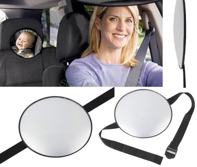 40Set Car Back Seat Safety Mirror Rearview Mirror Baby Facing Rear View Headrest Mount Interior Mirror Infant Baby Kids Monitor