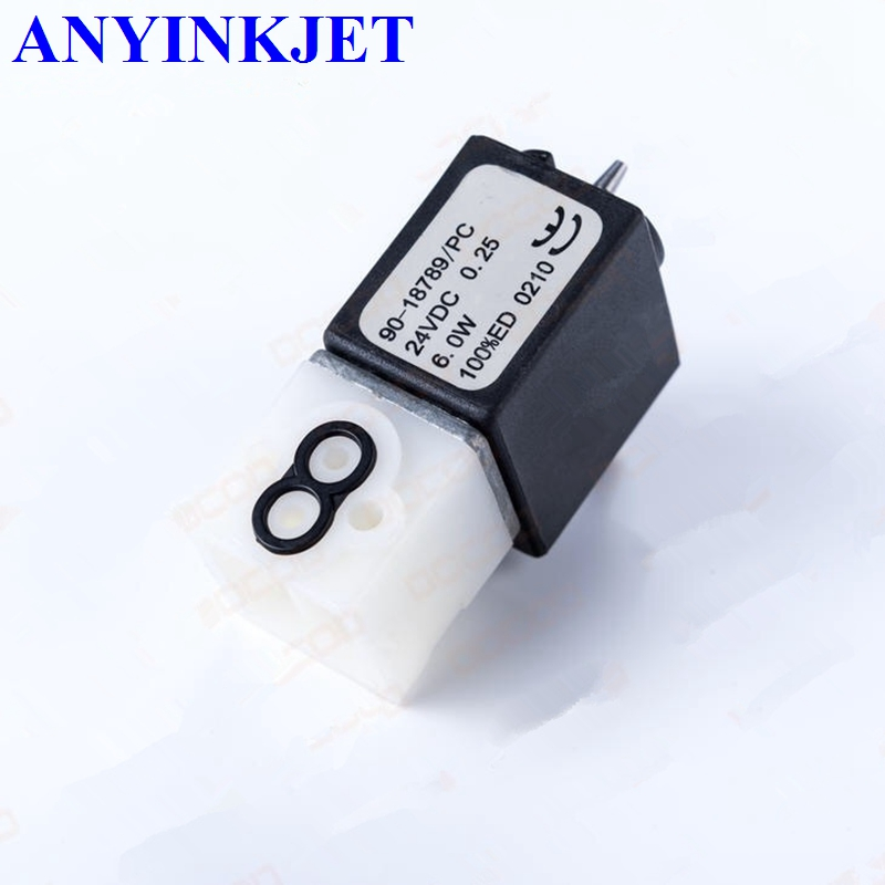 For Citronix solenoid valve SOLENOID VALVE 3WAY 003-1024-001 for Citronix Ci1000 Ci2000 Ci700 Ci580 series Printer 2 3way 3v310 10 inner guide single head solenoid valve 3 8 china factory 3v series solenoid valve3v310 10